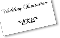 sample our range of personalised and bespoke wedding stationery, invitations, save the date cards, orders of service