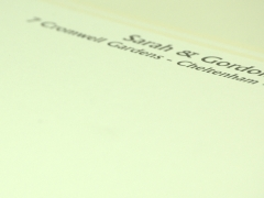 Design and proof your personalised Social Stationery Letterheads